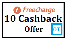 Freecharge Promo Code 10 Cashback offer