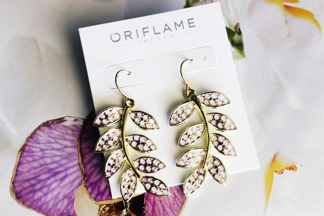 Oriflame Verdana jewelry set earrings