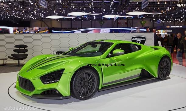 New Zenvo ST1 in 2016