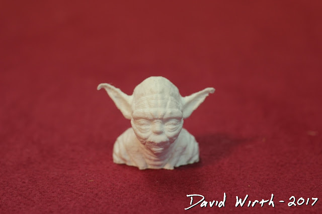 star wars, yoda, 3d printed part