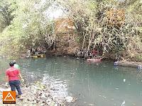 Perahu Aluminium Di Sungai Bedog Kaliabu