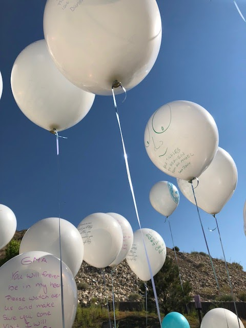 Balloon Memorial Send-off