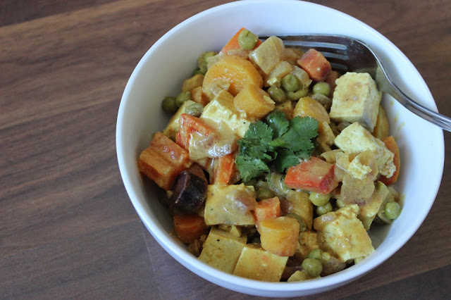 Panang Tofu Curry | A Hoppy Medium #vegan
