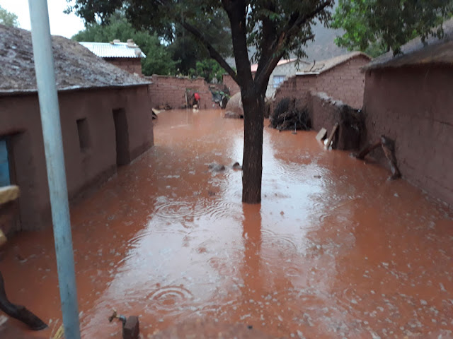 Schwere Überschwemmungen in den Bergen Boliviens