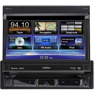 Clarion-NZ502E-single-din-audio-gps