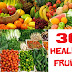30 Healing Foods And Their Nutritional Values