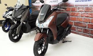 Motor Yamaha Lexi 125cc Sporty dan Gaya Kekinian