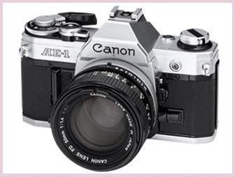 Kamera SLR AE-1 dengan built-in mikro-komputer