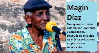 Magín Díaz - músico compositor de la canción Rosa