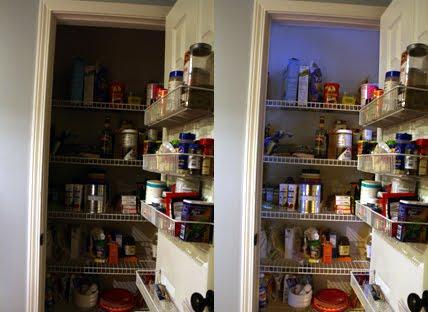 How To Light A Small Closet Or Pantry Using Motion Sensor