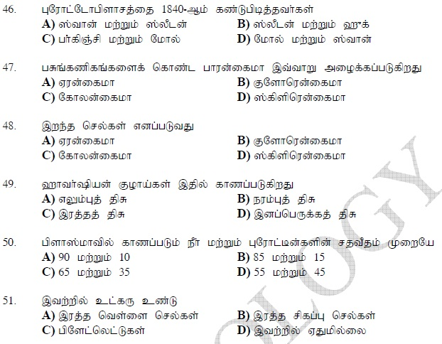 bank exam model question paper in tamil