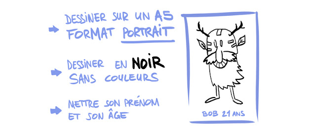 bestiaire collectif collaboration creative dessin le Pueblo