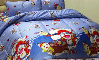Contoh Seprei Motif Doraemon - Kamar Anak 200168