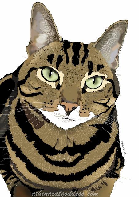 Athena's Pet Portrait