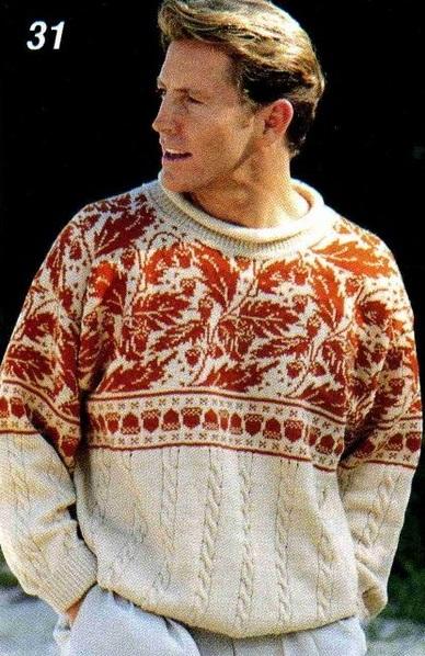 Patron Crochet Sueter Hombre
