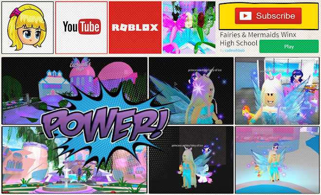 Roblox Fairies Mermaids Winx High School Beta Gameplay