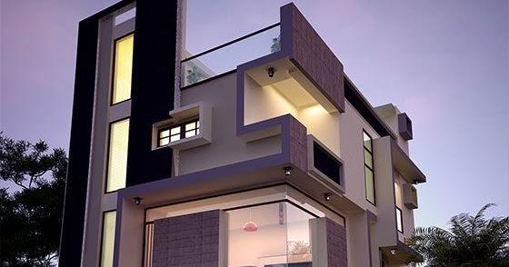 30x40 contemporary three storied home kerala home design and 30x40 contemporary