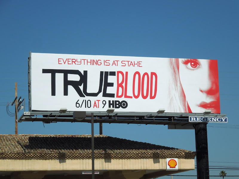 True Blood season 5 Sookie billboard