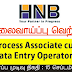 Vacancy In HNB   Post Of - Process Associate cum | Data Entry Operator