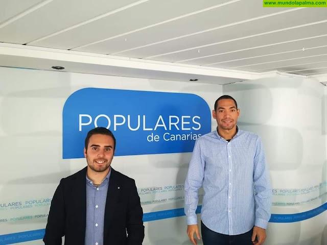 Nuevas Generaciones de La Palma celebran que el Cabildo palmero pueda contar con un presidente del PP
