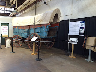 Landis_Valley_Conestoga_wagon_at_Farm Show
