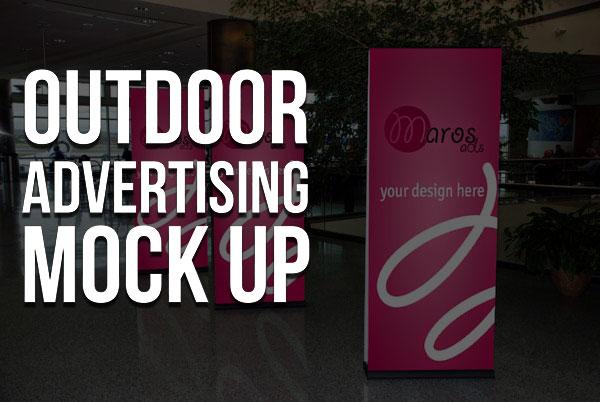 40+ Unique Free Outdoor Advertising Billboard MockUp PSD
