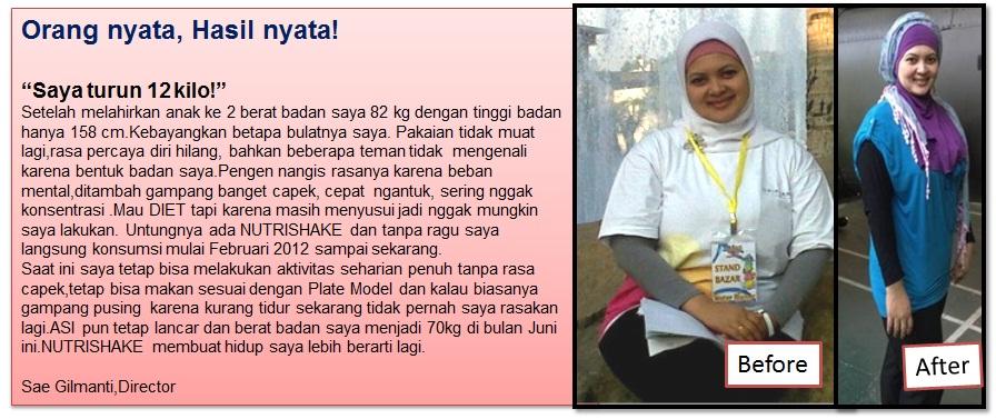 Solusi Turun Berat Badan Dengan Nutrishake