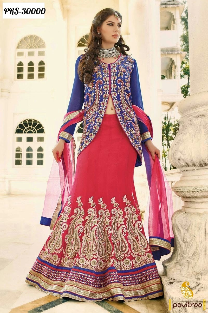 Online shopping for wedding lehengas in india
