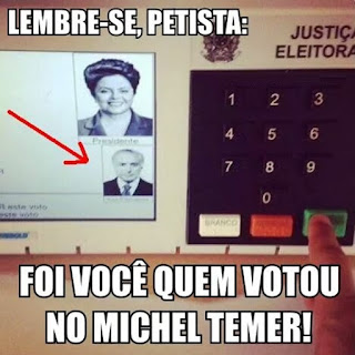 Dilma Rousseff oficialmente impedida de (des) governar o Brasil.