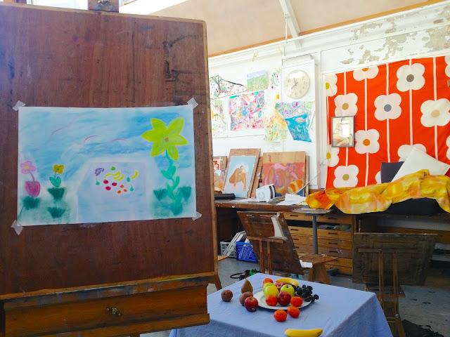 still life art class