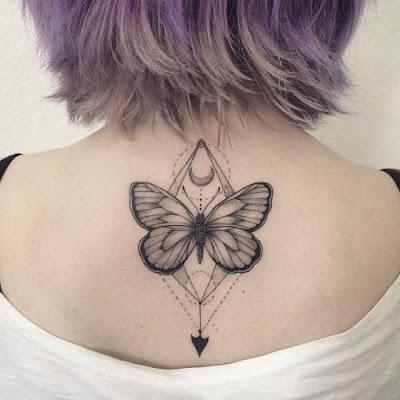 Tatuagens feminina de borboleta
