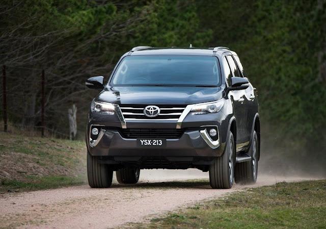 Eksterior Toyota Fortuner