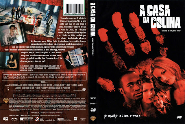 Capa DVD A Casa da Colina