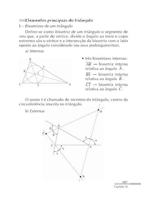 Elementos de um triangulo
