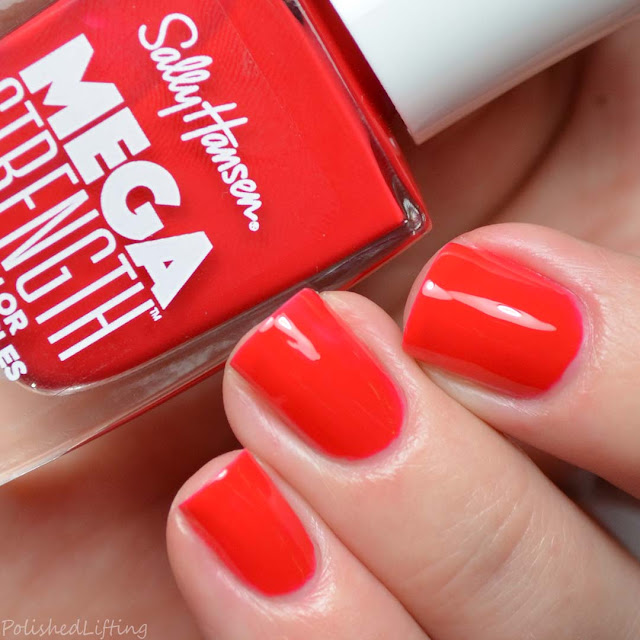 red jelly nail polish