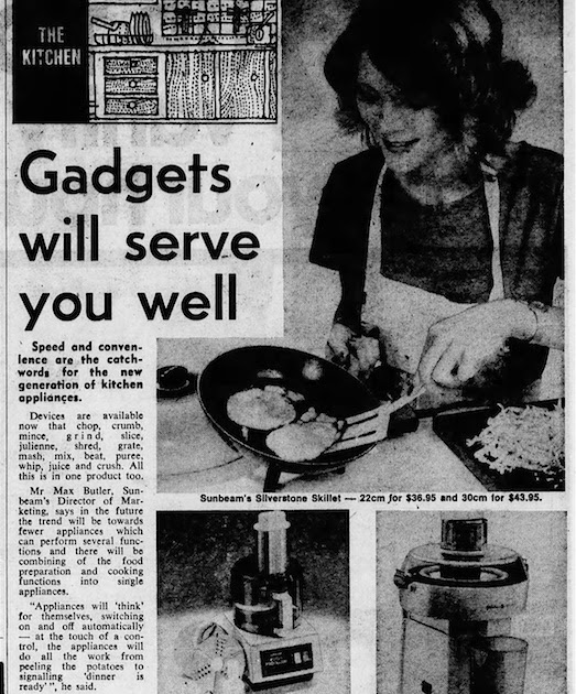 Gadgets will serve you well...
