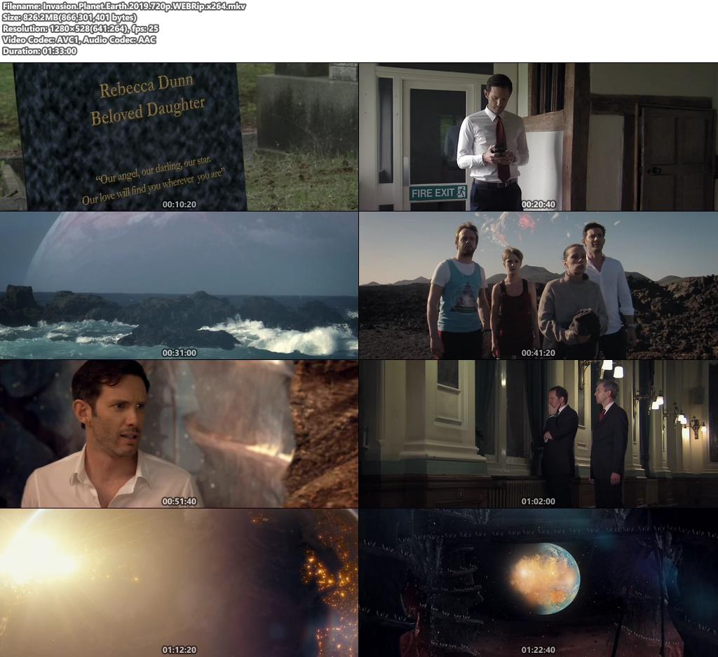 Invasion Planet Earth 2019 720p WEBRip x264   480p 300MB   100MB HEVC Screenshot