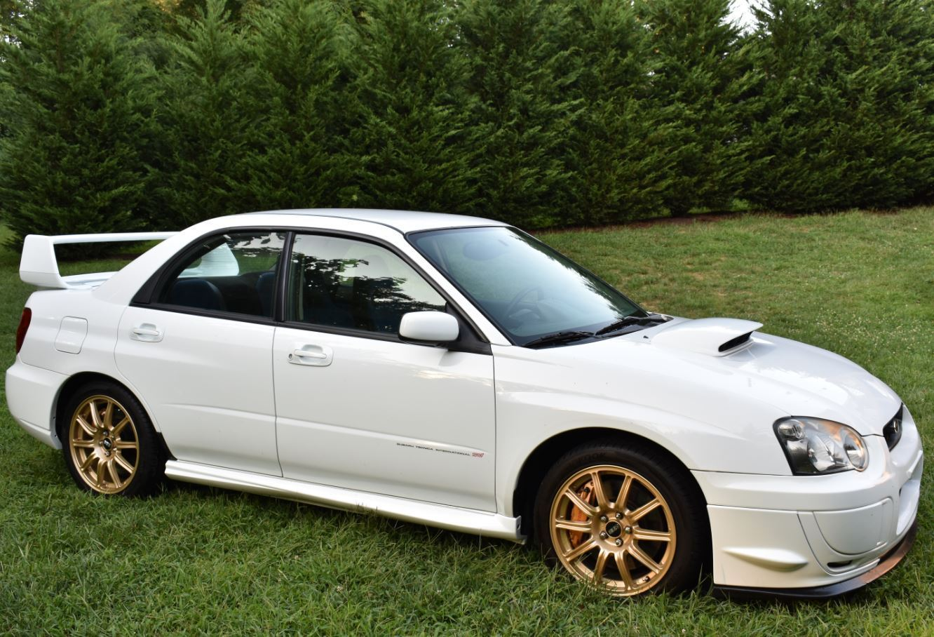 daily turismo boosted rally machine 2004 subaru impreza. Black Bedroom Furniture Sets. Home Design Ideas