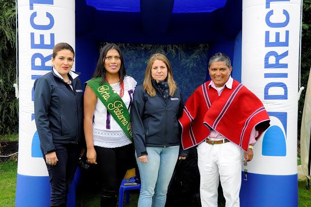 DirecTV agasajó a 200 niños en Tungurahua