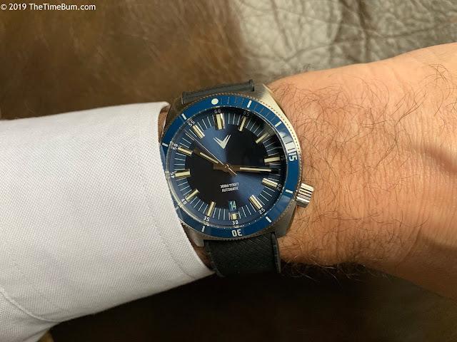 Ventus Northstar  Admiral Blue wrist shot