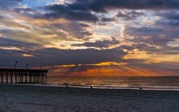 Wallpaper: Sunrise on the North Beach