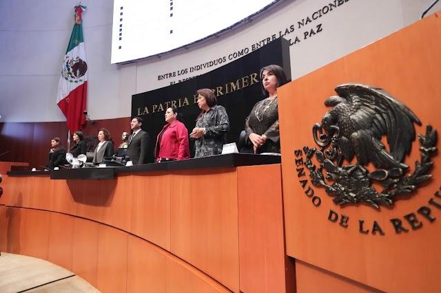 Por unanimidad, ratifica el Senado a cuatro subsecretarios de la Cancillería