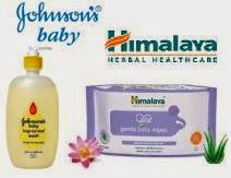 Johnson's & Himalaya Baby Products