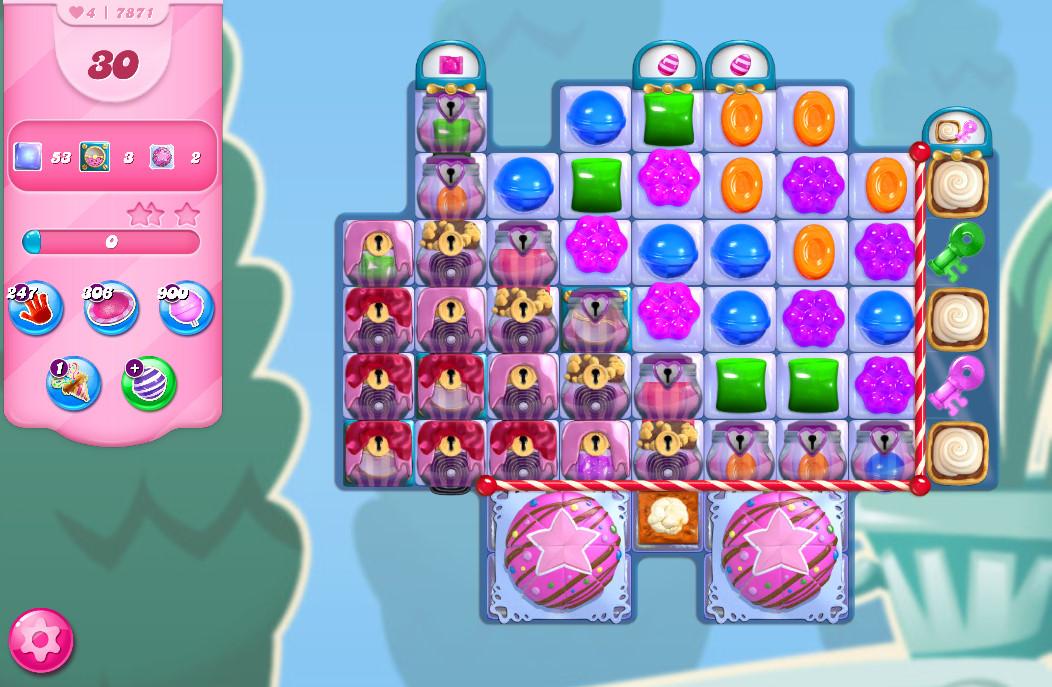 Candy Crush Saga level 7871