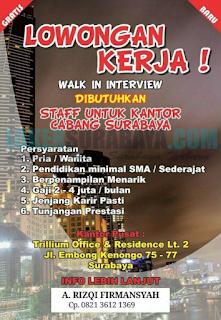Trillium Office & Residence Lt 2 Surabaya