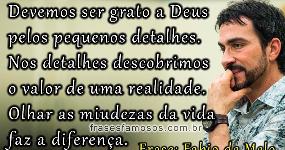 Frases De Padre Fábio De Melo Frases Famosas