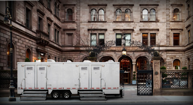 Restroom Trailers, The Manhattan and The Versailles Restrooms