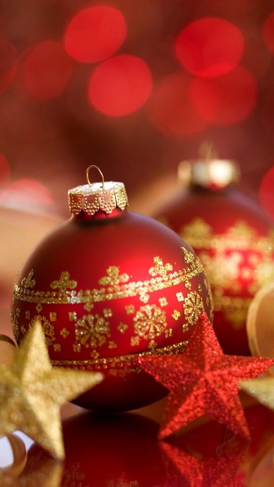 Christmas Balls Beautifu Star Decoration Galaxy Note HD Wallpaper
