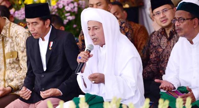 Berita Jokowi Diplintir, Habib Luthfi Keluarkan Klarifikasi Dan Tabayyun