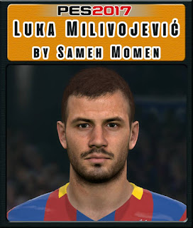 PES 2017 Faces Luka Milivojević by Sameh Momen